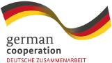 Logo 'german coorporation' | 'Deutsche zusammanarbeit'