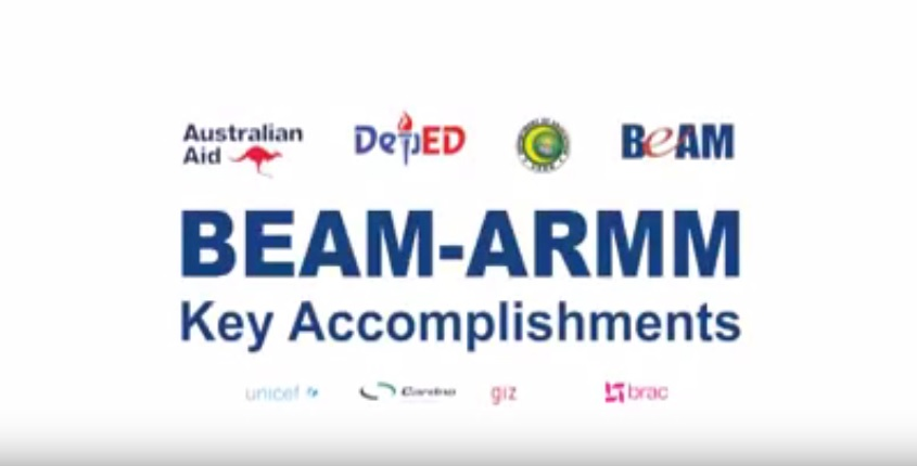 Click to view 'BEAM ARMM Key Achievements 2012-2017'