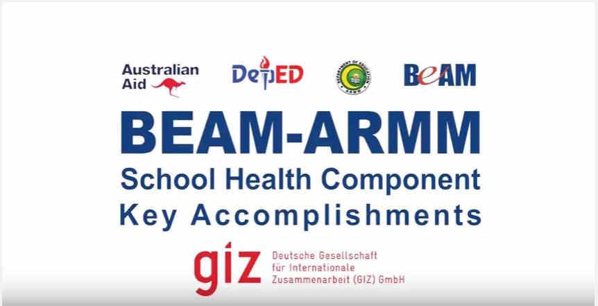 Click to view 'BEAM ARMM School Health Component Key Accomplishments'