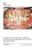 Click to Download 'Untreated Severe Dental Decay: A Neglected Determinant of Low Body Mass Index in 12-year old Filipino Children'