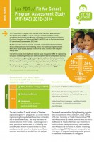 Click to Download 'Fit for School Program Assessment Study Short Report Lao PDR'