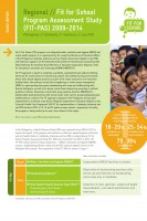 Click to Download 'Fit for School Program Assessment Study Report Short Regional'