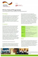 Click to Download 'Fit for School Fact Sheet (2018 edition)'