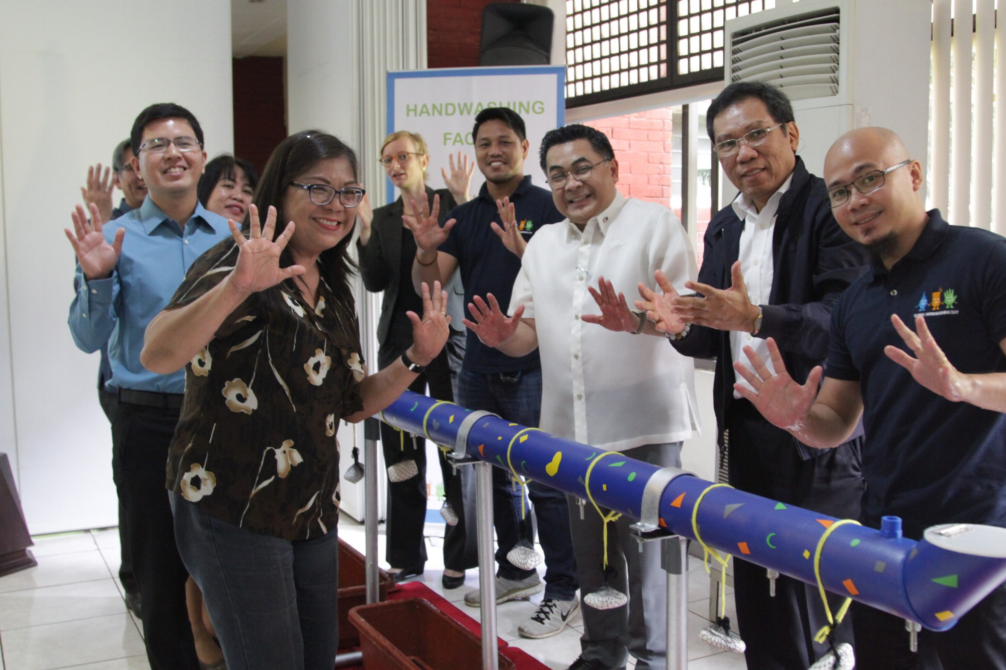 Philippine Department of Education led Global Handwashing Day Celebrations