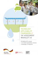Click to Download 'Technology Applicability Framework: TAF Assessment WASHaLOT 3.0'