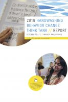 Click to Download '2018 Handwashing Behavior Change Think Tank Report'