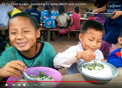 Fit for Food in Laos – Partnering for Better WASH and Nutrition